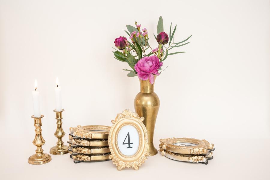 Aukso spalvos nedideli rėmeliai (RM-14)
