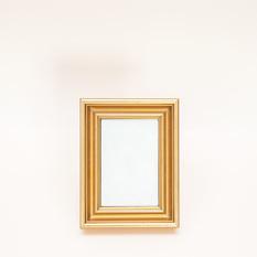Blizgus aukso spalvos rėmelis (RM-30)