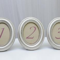 Ovalūs perlamutro spalvos rėmeliai (RM-7)