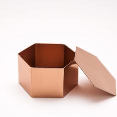 Vario spalvos geometrinė dėžutė žiedams (Dž-1.1.)
