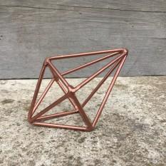 Vario spalvos septyniakampė geometrinė figūra (D-21)