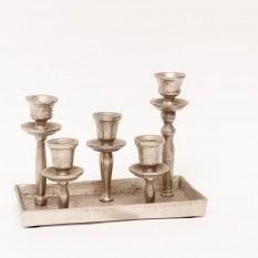 Metalinė žvakidė penkioms žvakėms (Ž-43)