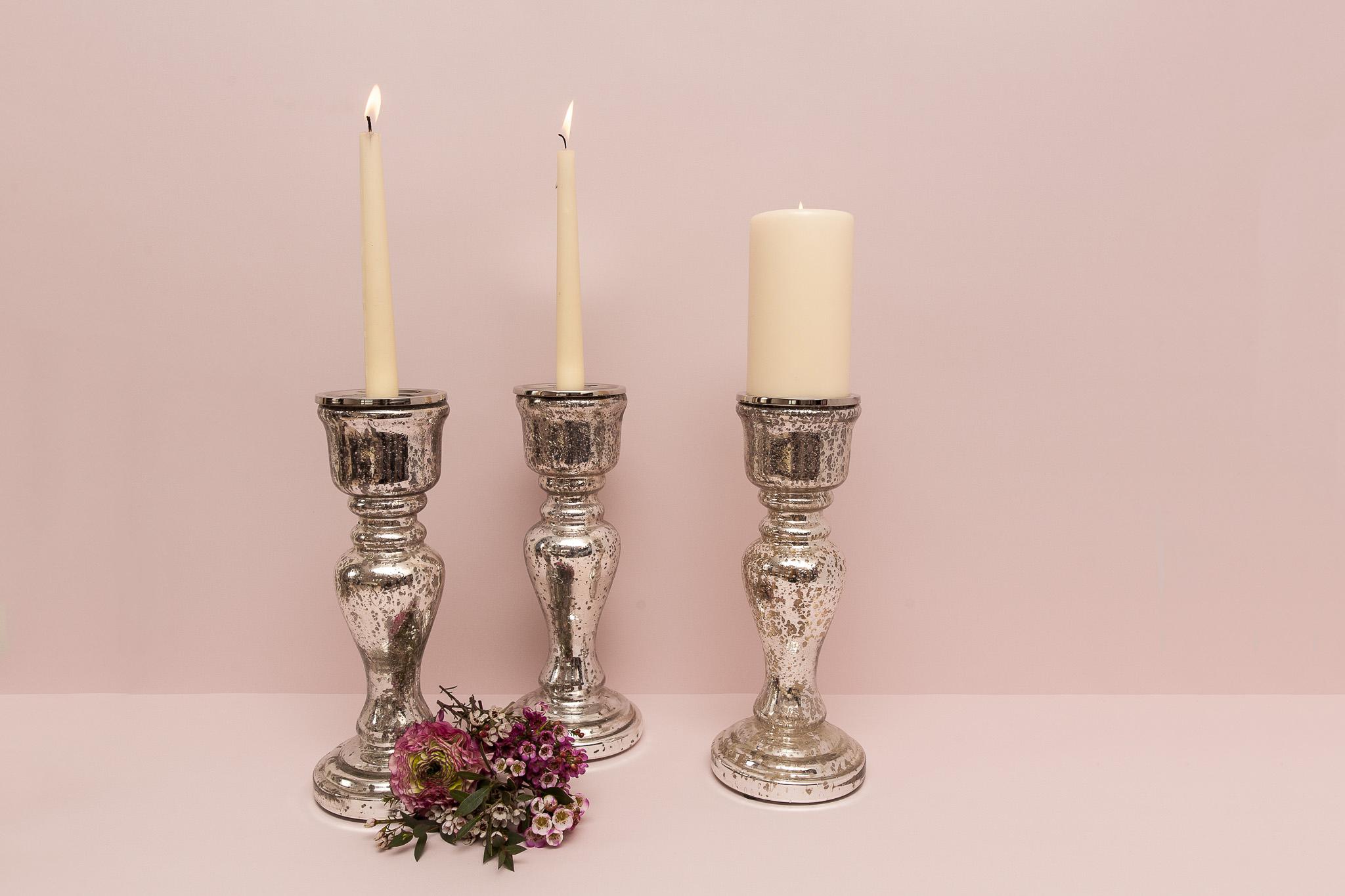 Masyvi prancūziško tipo stiklo Žvakidė (Ž-44)