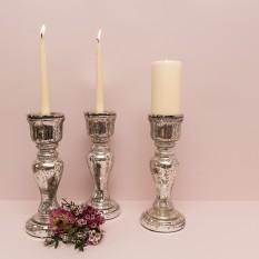 Masyvi prancūziško tipo stiklo Žvakidė (Ž - 44)