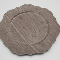Medienos lukšto lėkštė (In - 17)