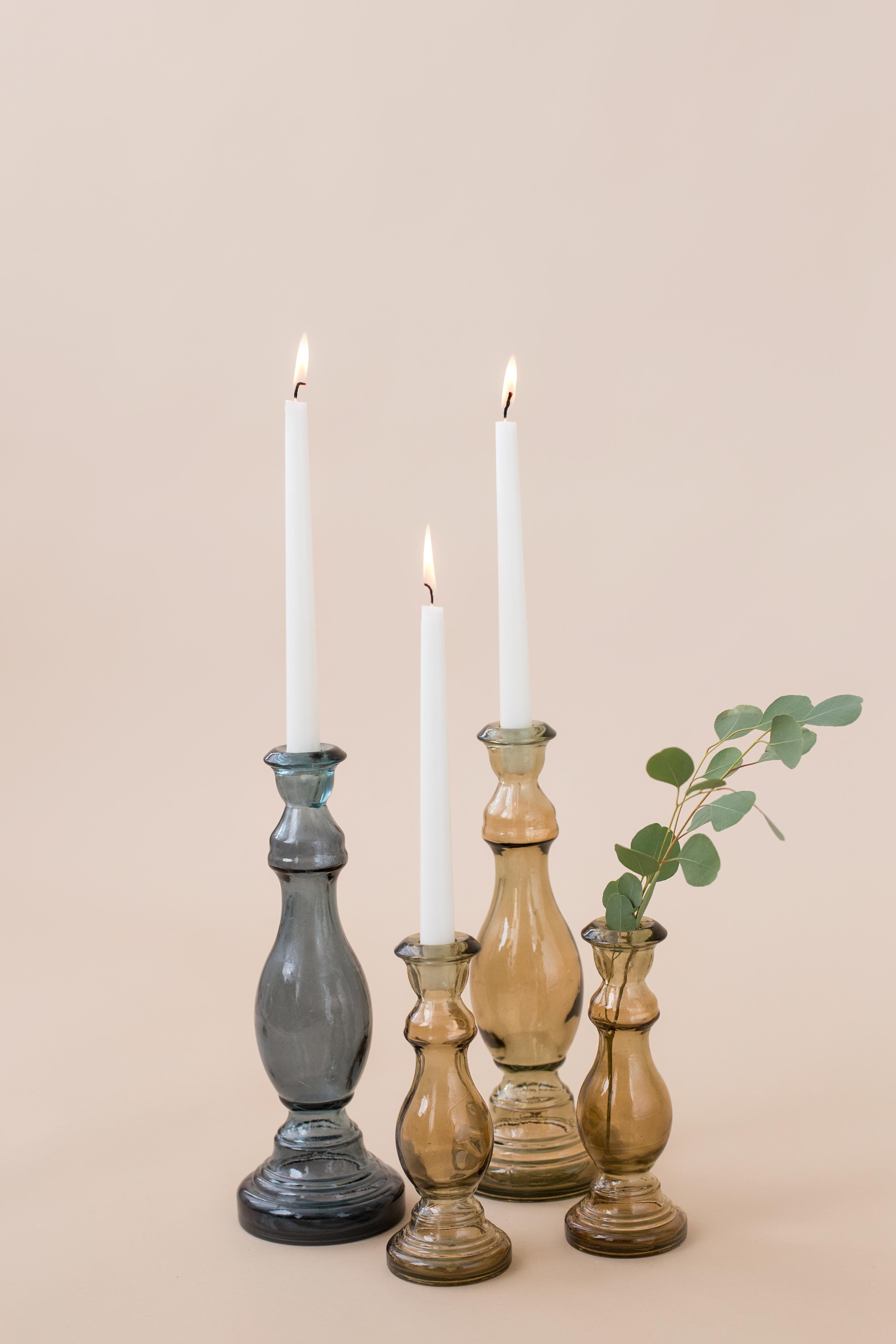 Klasikinės formos žvakidės - vazelės (Vv - 8)