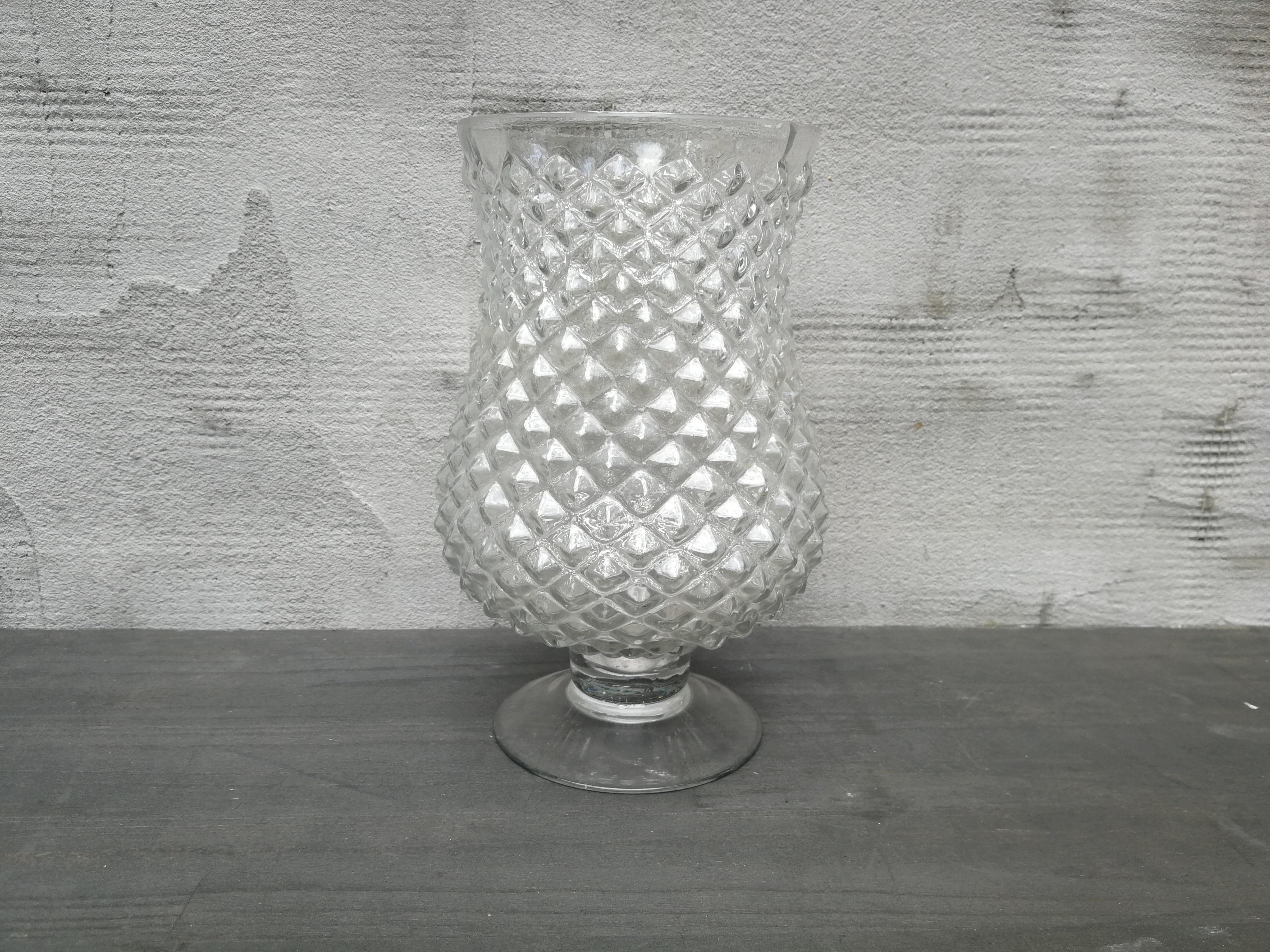 Grafininė vaza ant kojelės (Vz-10)