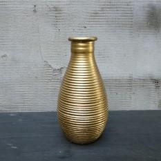 Įvairios lašo formos aukso spalvos vazelės (Vv-11)