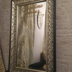 Didelis stačiakampis veidrodis su raižiniais (Vd-9)
