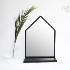 Namelio formos juodas veidrodis (Vd-10)