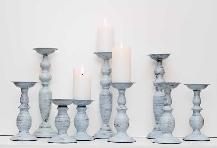 Sendintos Žvakidės (melsvos) (Ž – 2)
