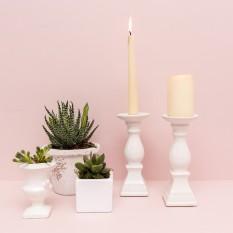 Klasikinė keraminė žvakidė (Ž-8)