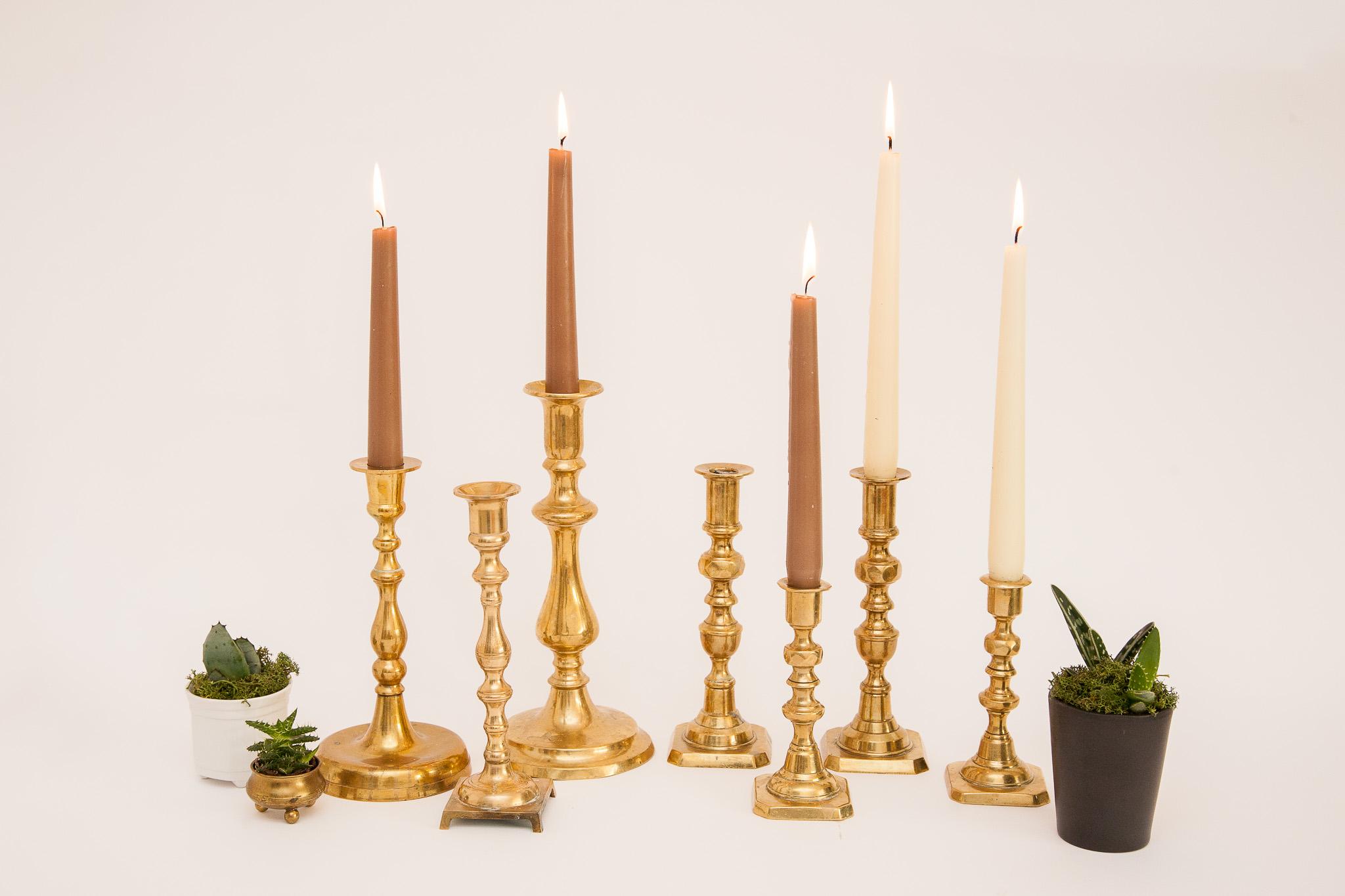 Žalvarinės žvakidės (Ž-13)