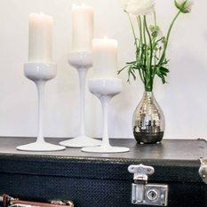 Stiklinių žvakidžių komplektas (Ž - 14)