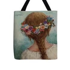 """Krepšys """"Gėlių vainikas"""""""