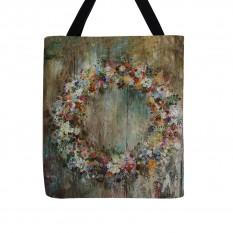 """Krepšys """"Gėlių vainikas II"""""""